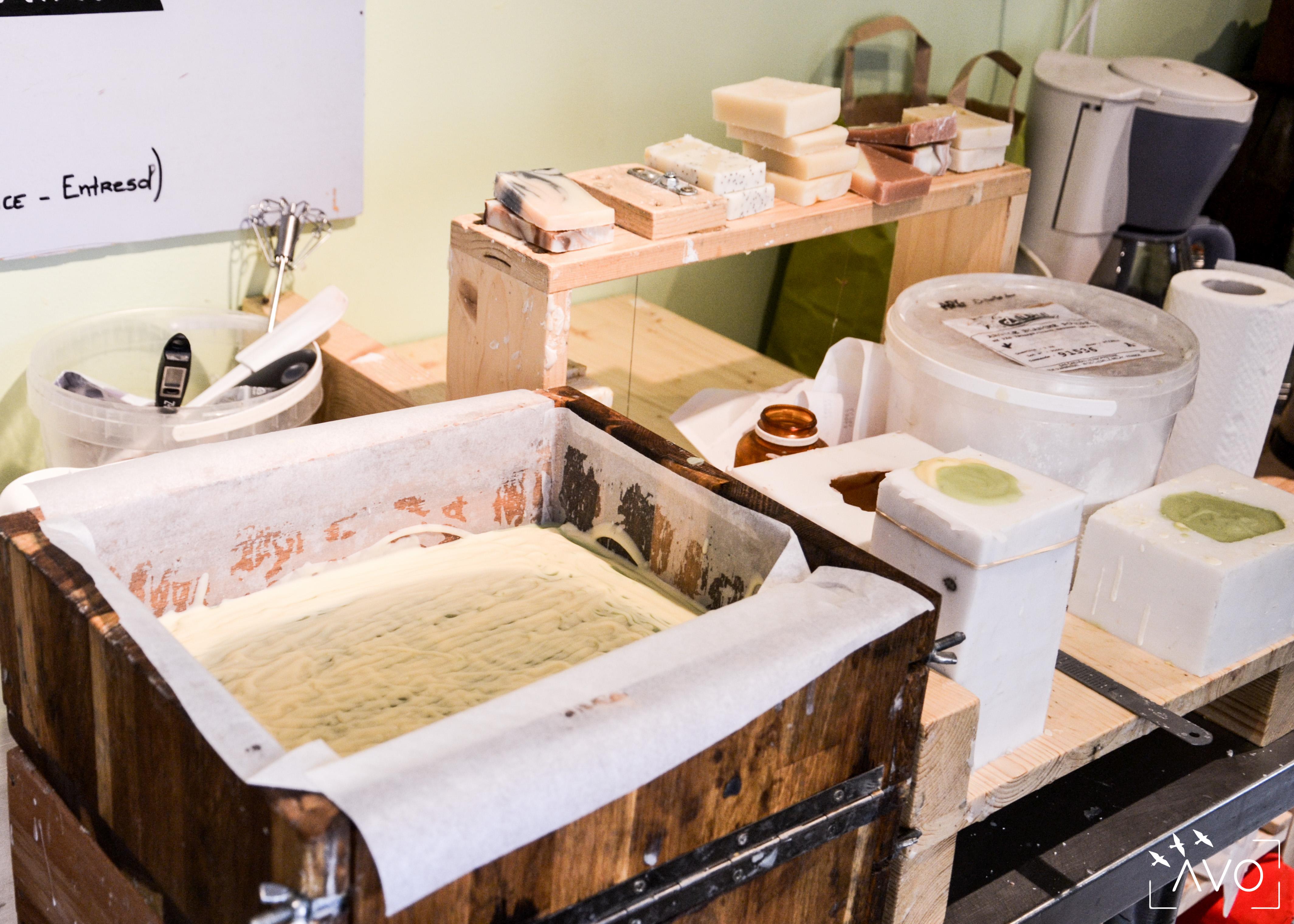 savons naturels avo ecologie savon cosmétique naturel carnets de savon atelier savonnière 2