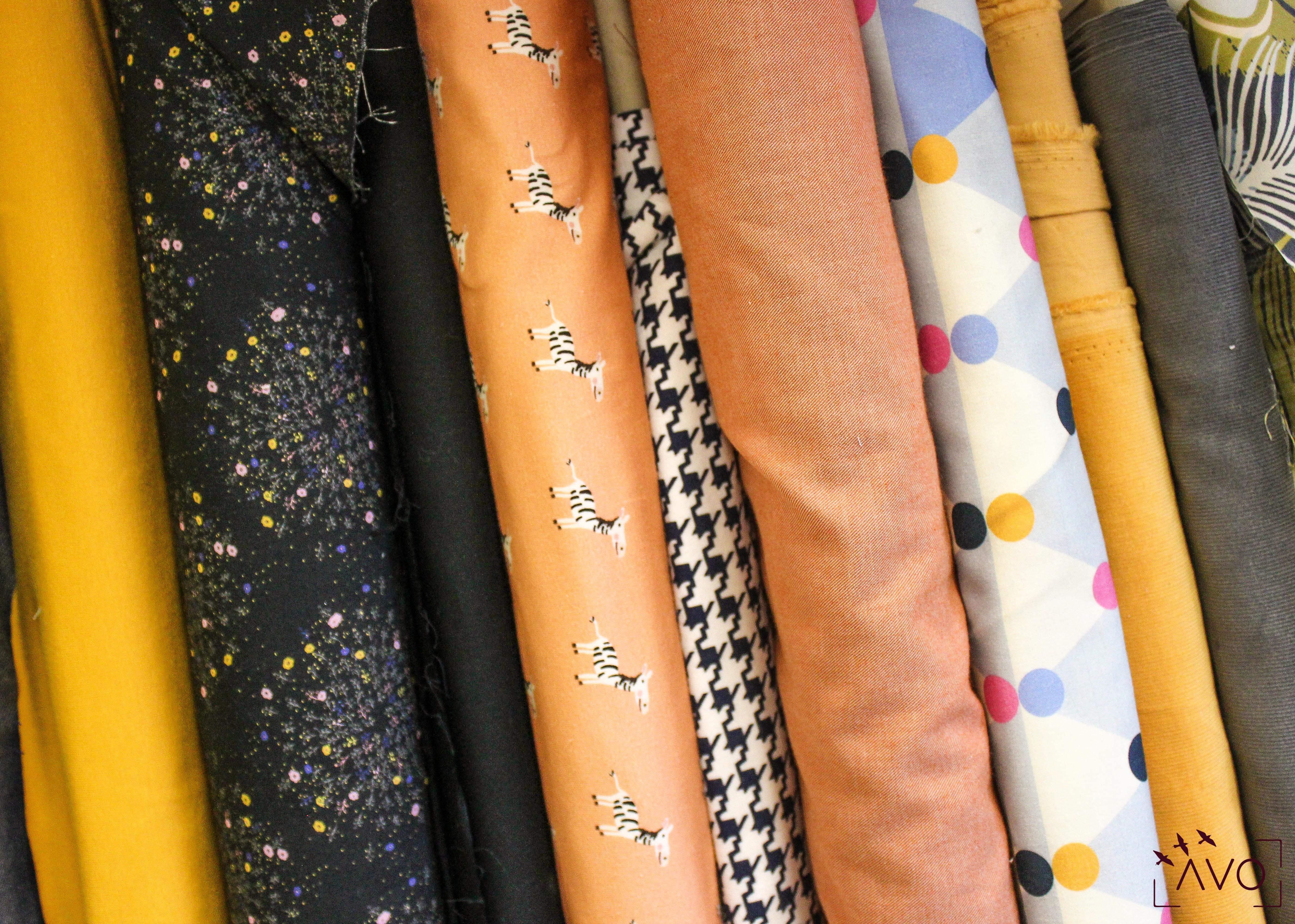 couture tissus écolo fil etik carré motifs moderne tissu bio