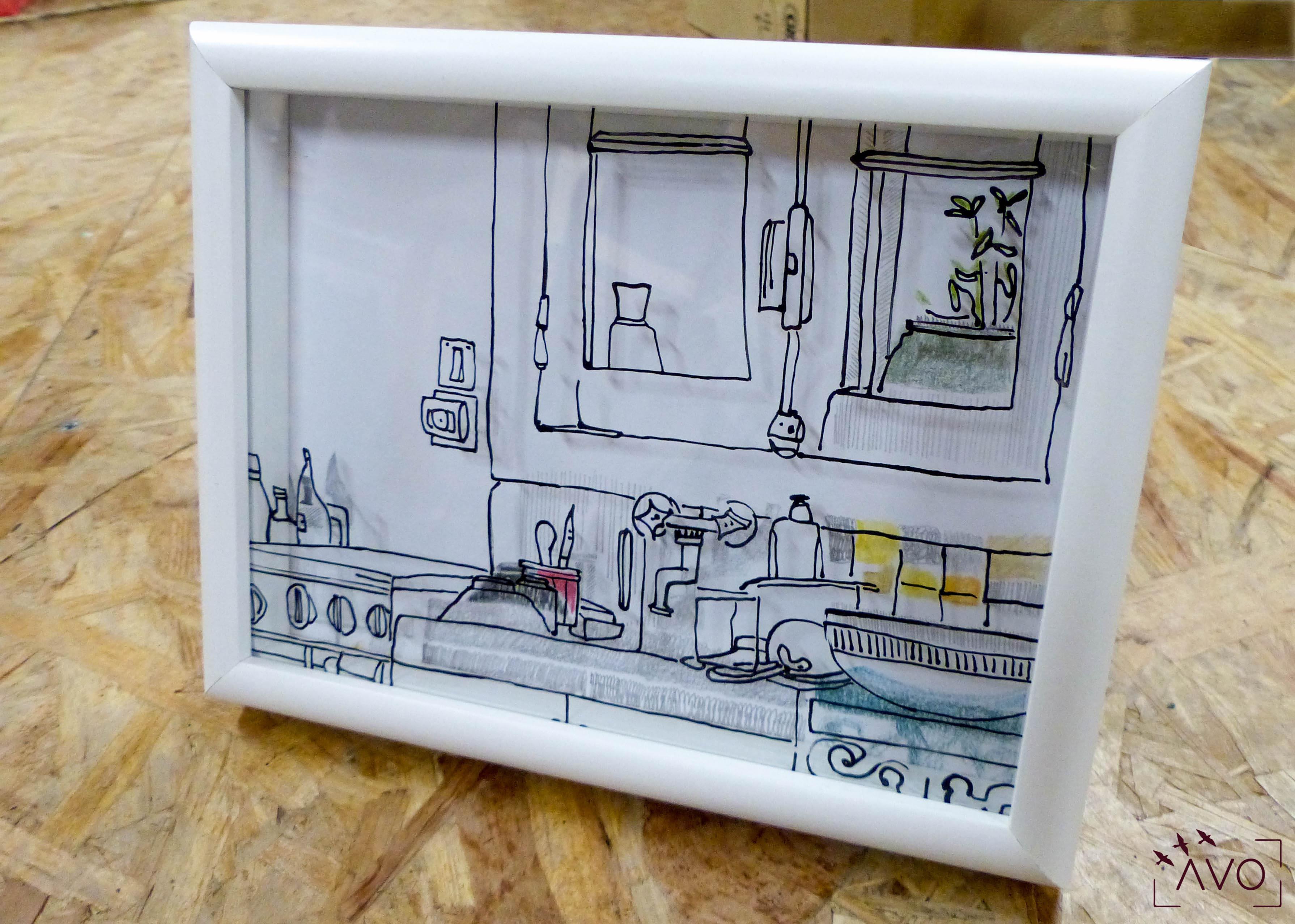 julia robert verrerie chazelles atelier verre dessin graphisme souffleur moderne tableaux