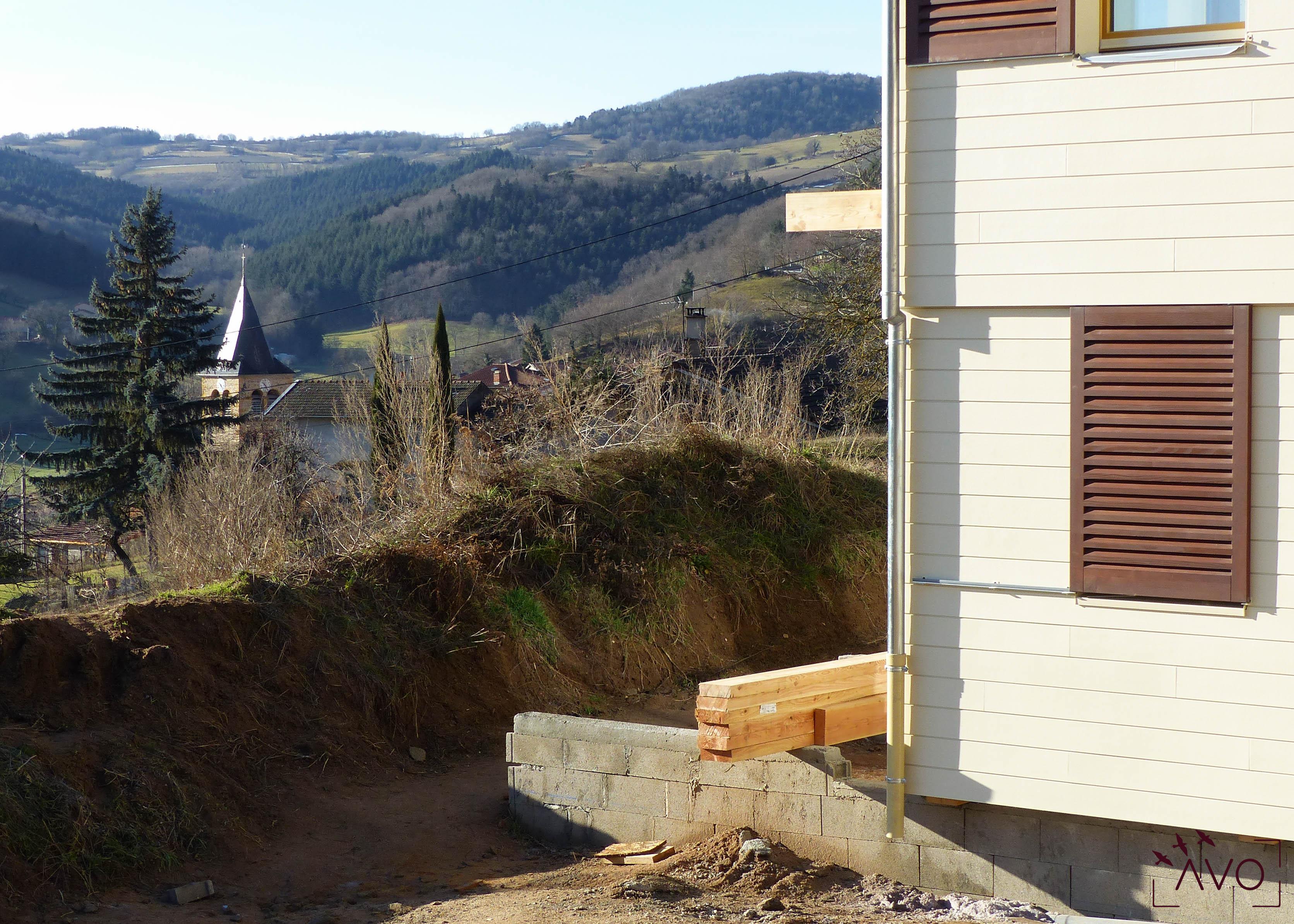 eco2travaux maison passive maison écologique isolation lyon mont du lyonnais ventilation double flux ancy paysage