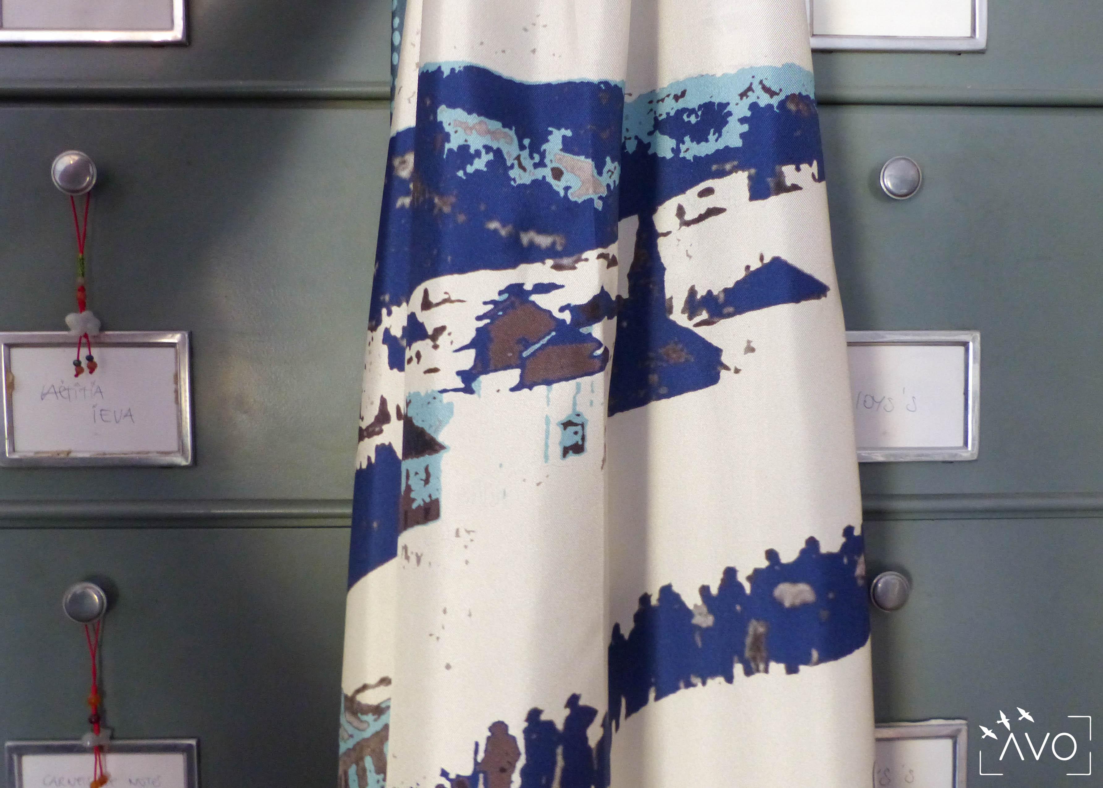 lso créations foulards lyon soie détail histopire poésie couleur ski1