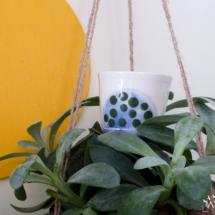céramique tasse pois porcelaine caluire lyon abcéramique