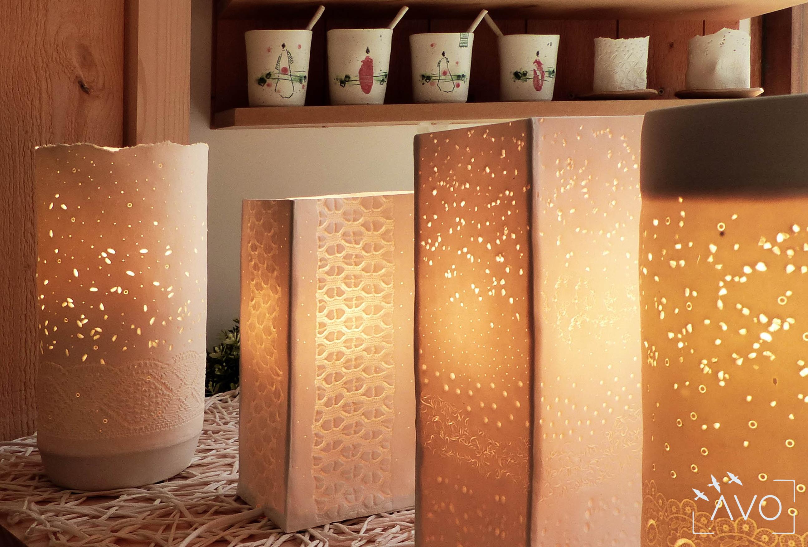 les carrés céramique porcelaine st pierre d'allevard luminaire riz grain